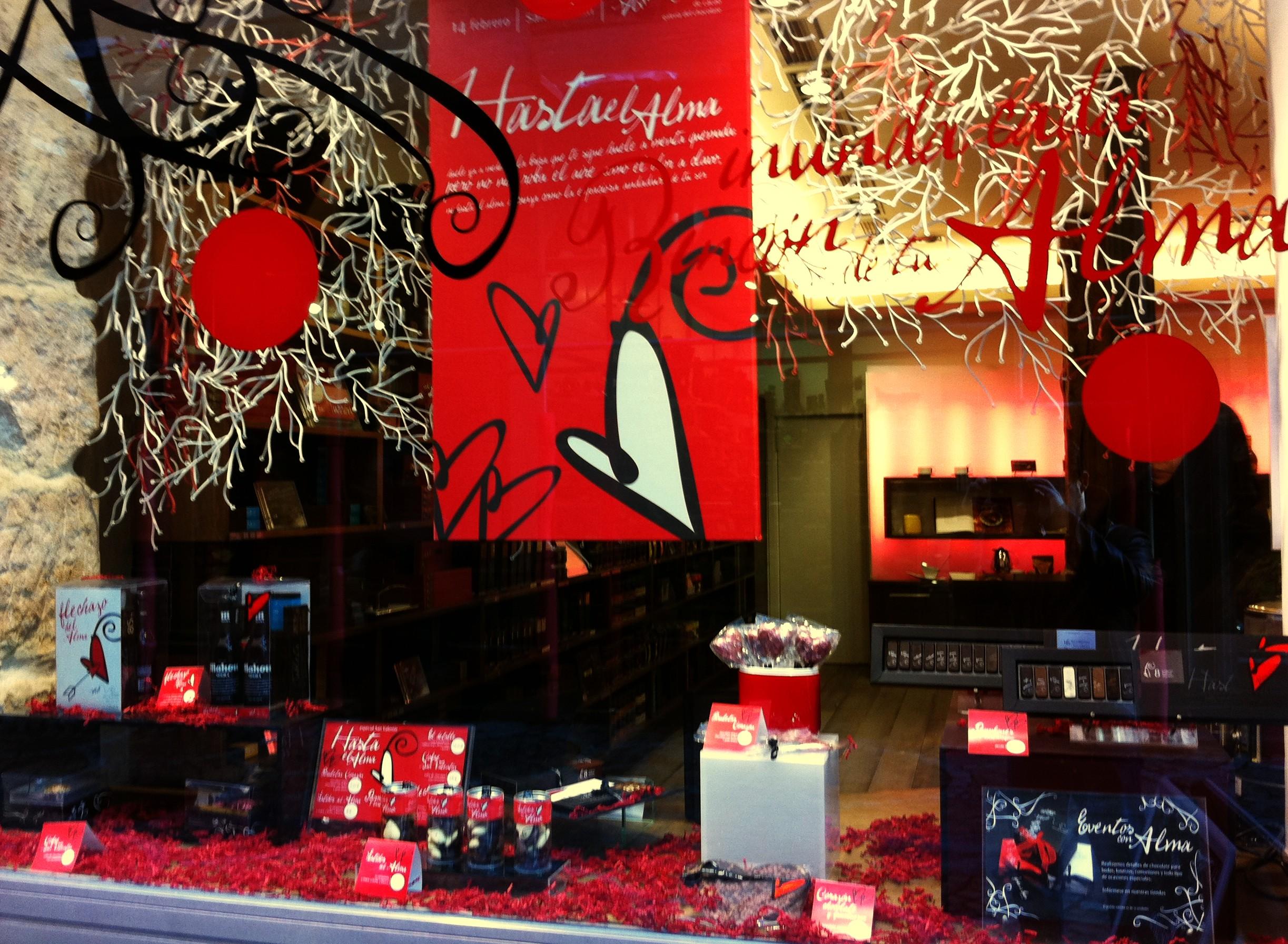 Decoracion San Valentin Tiendas ~ Escaparate  Comunico, luego vendo  P?gina 4