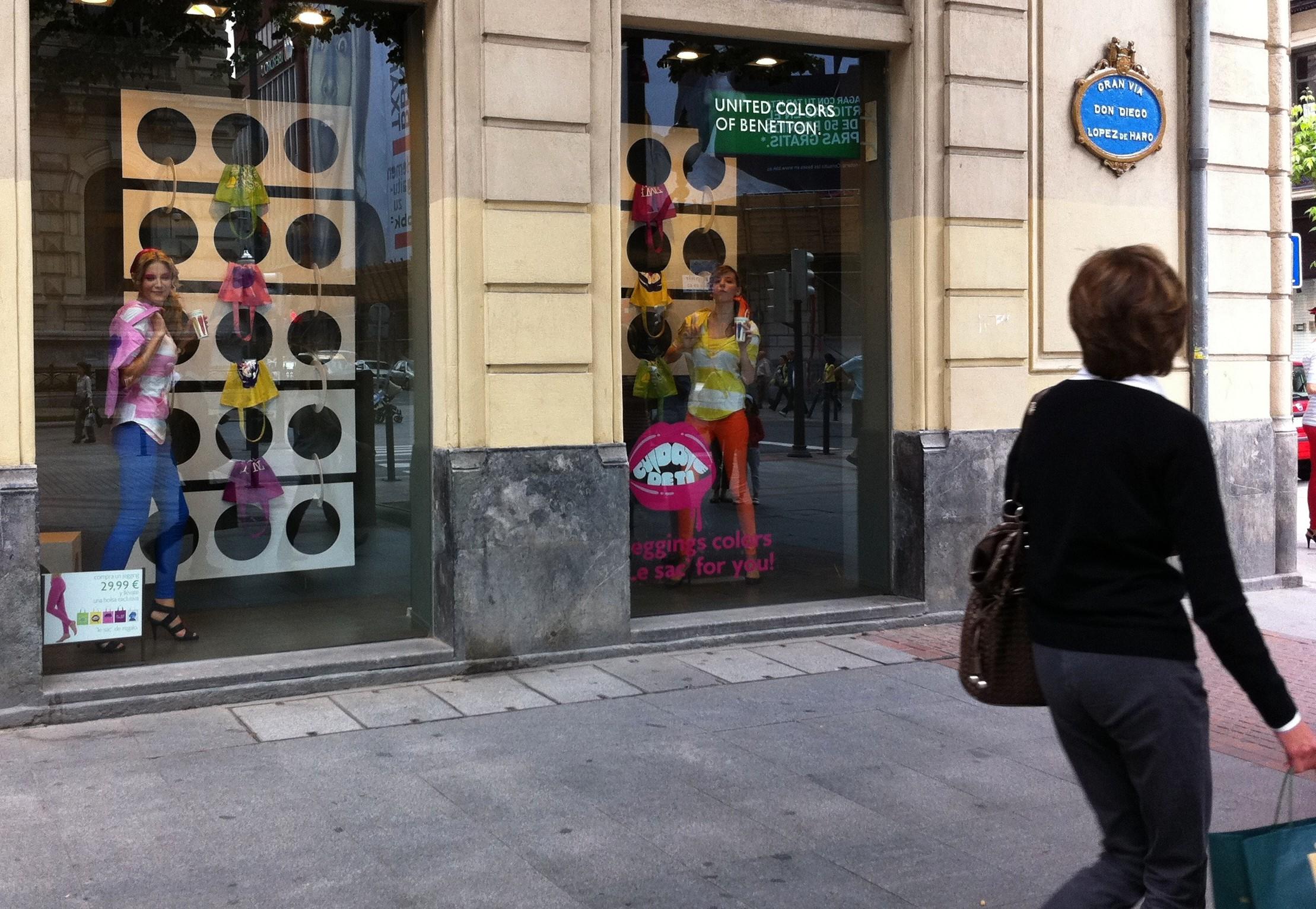 Un día de compras (4) La fiesta Benetton